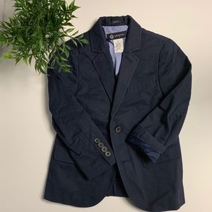 Crew cuts JCrew Thompson navy blue blazer